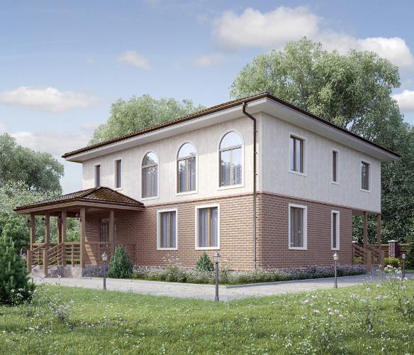 Проекты каркасных домов. Дом под ключ