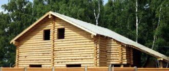 Проект шале Лесная Сказка. Проекты домов из бревна и бруса, строительство под ключ